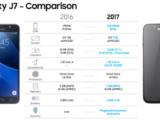 Samsung Galaxy J7 (2017) и J5 (2017) получат фронтальные камеры на 13 МП